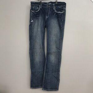 Adiktd medium wash boot cut jeans Size 8